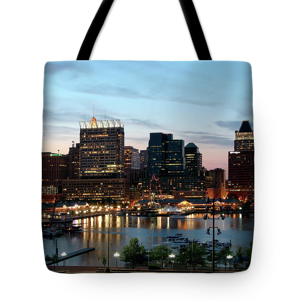 Tote Bag featuring the New Upload by Bill Cobb