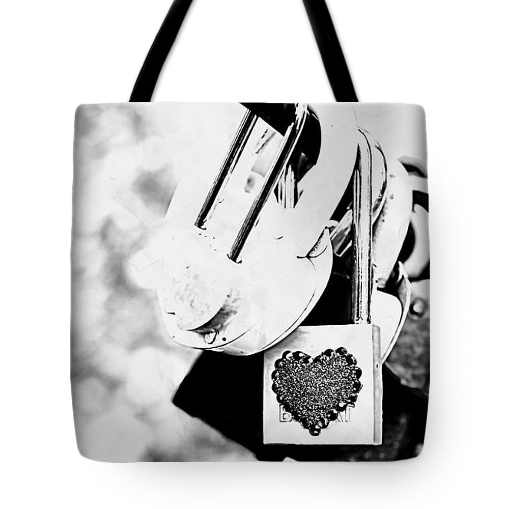 Love Tote Bag featuring the digital art Love by Lora Battle
