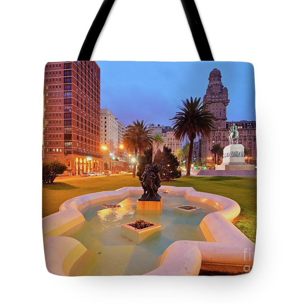 South America Tote Bag featuring the photograph Montevideo, Uruguay by Karol Kozlowski