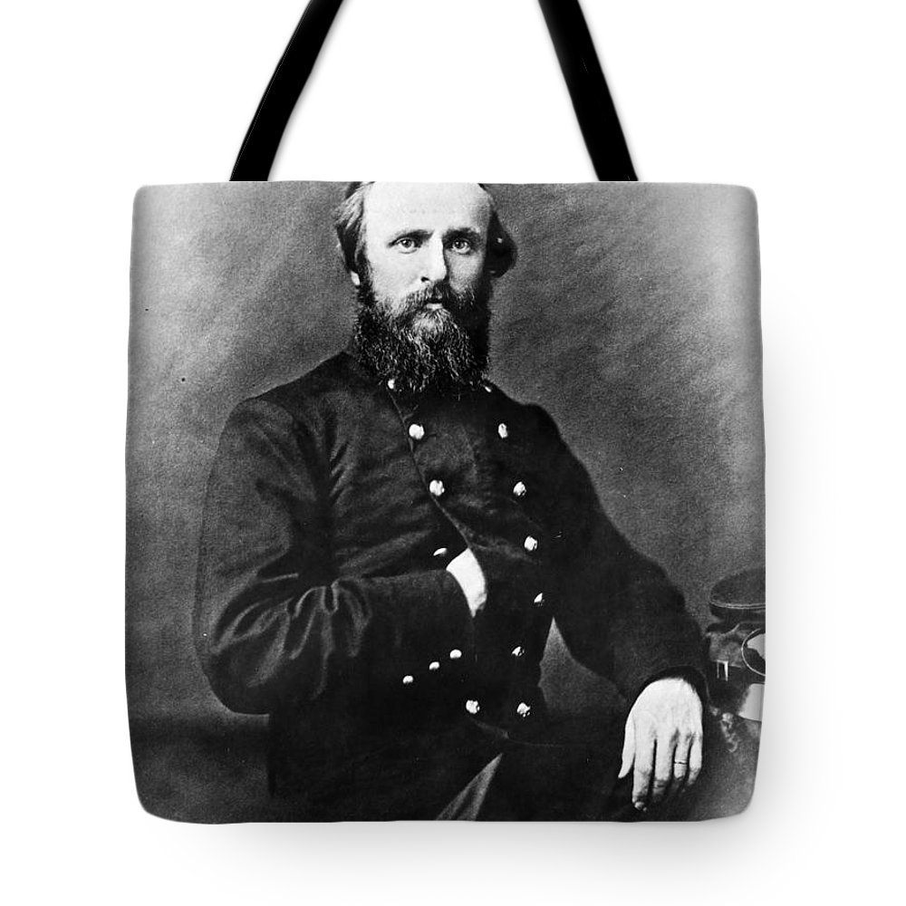 19th Century Tote Bag featuring the photograph Rutherford B. Hayes by Granger