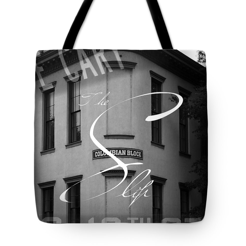Shockoe Slip Tote Bag featuring the photograph 13th And Cary by Kelvin Booker