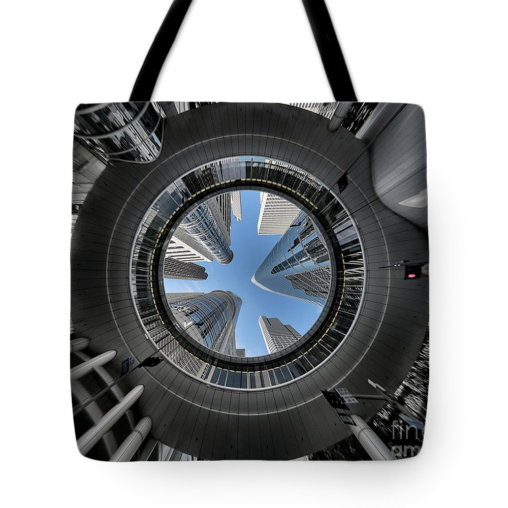 21st century tote bag featuring the photograph 1400 smith street by norman gabitzsch