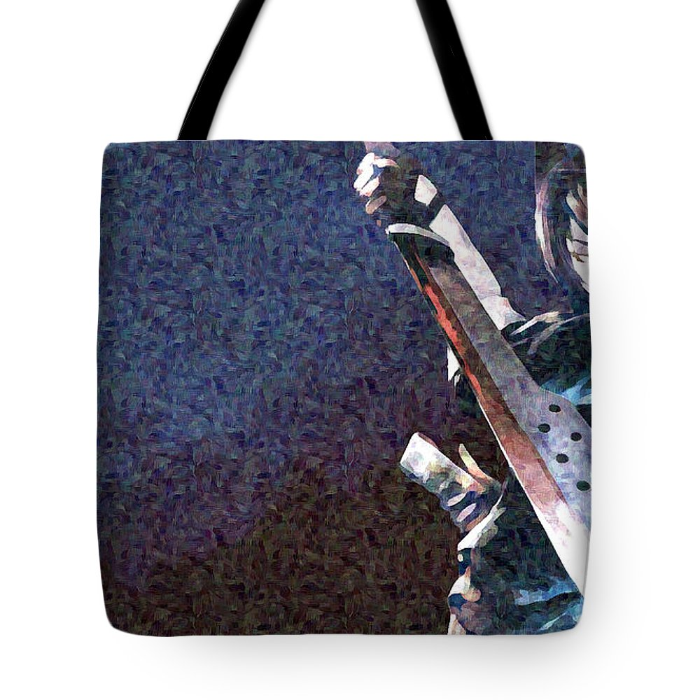 Kantai Collection Tote Bag featuring the digital art Kantai Collection by Lora Battle