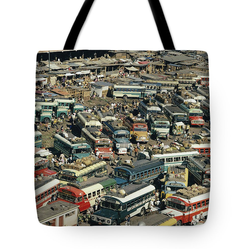 Central America Tote Bag featuring the photograph Untitled by Joe Scherschel