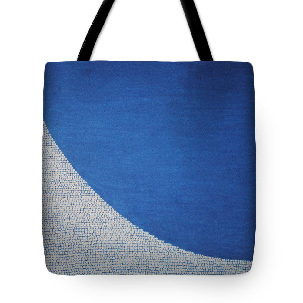 Inspirational Tote Bag featuring the painting Perfect Existence by Kyung Hee Hogg