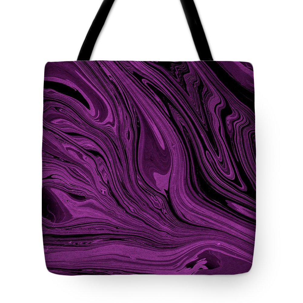 Marble Tote Bag featuring the digital art #17 by Alina Debris