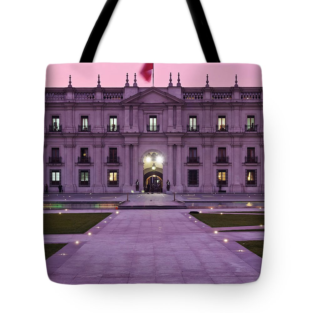 South America Tote Bag featuring the photograph Santiago De Chile by Karol Kozlowski