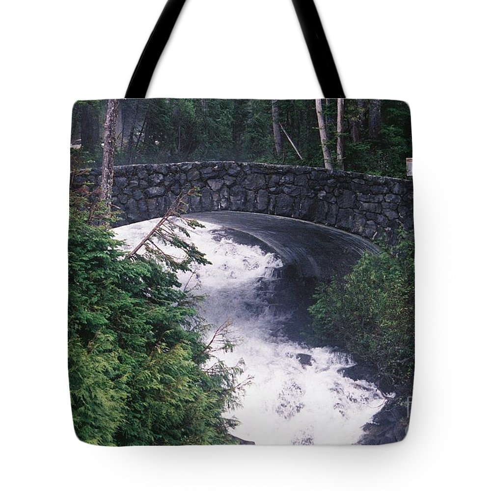 Bridges Tote Bag featuring the photograph Untitled by John Huntsman