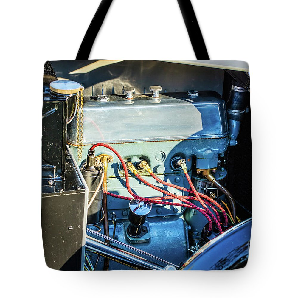 1930 Mg Tote Bag featuring the photograph 1743.034 1930 Mg Engine by M K Miller