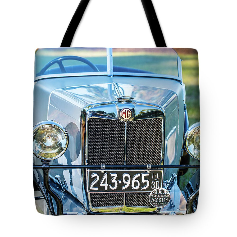 1930 Mg Tote Bag featuring the photograph 1743.037 1930 Mg Grill by M K Miller