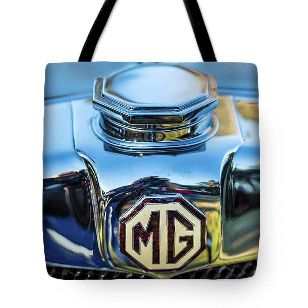 1930 Mg Tote Bag featuring the photograph 1743.040 Logo 1930 Mg by M K Miller