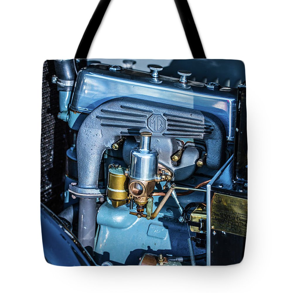 1930 Mg Tote Bag featuring the photograph 1743.047 Inside1930 Mg by M K Miller