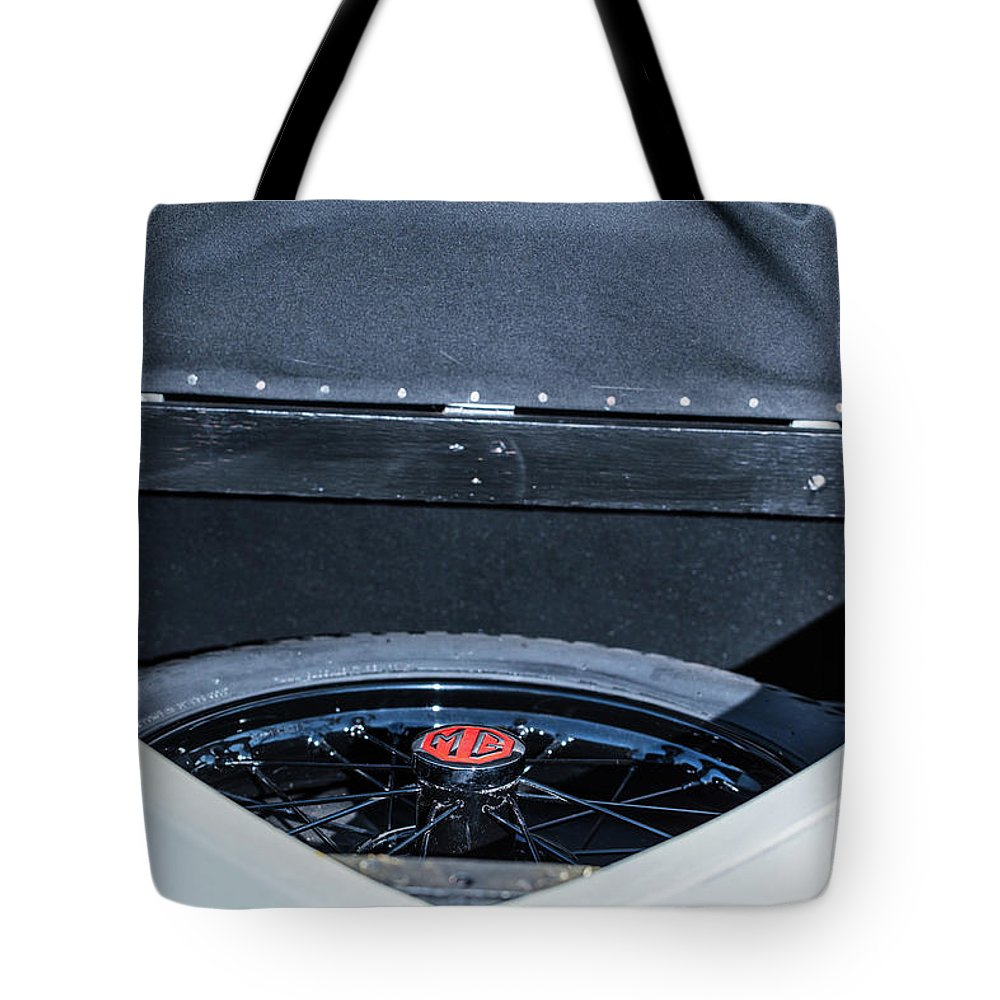 1930 Mg Tote Bag featuring the photograph 1743.048 Trunk1930 Mg by M K Miller