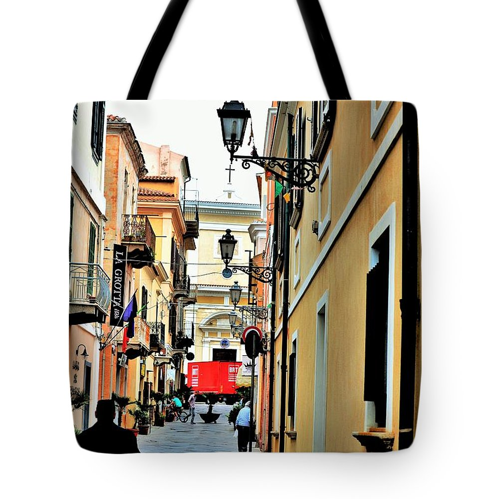 City Tote Bag featuring the photograph La Maddalena -sardinia by Gianni Bussu