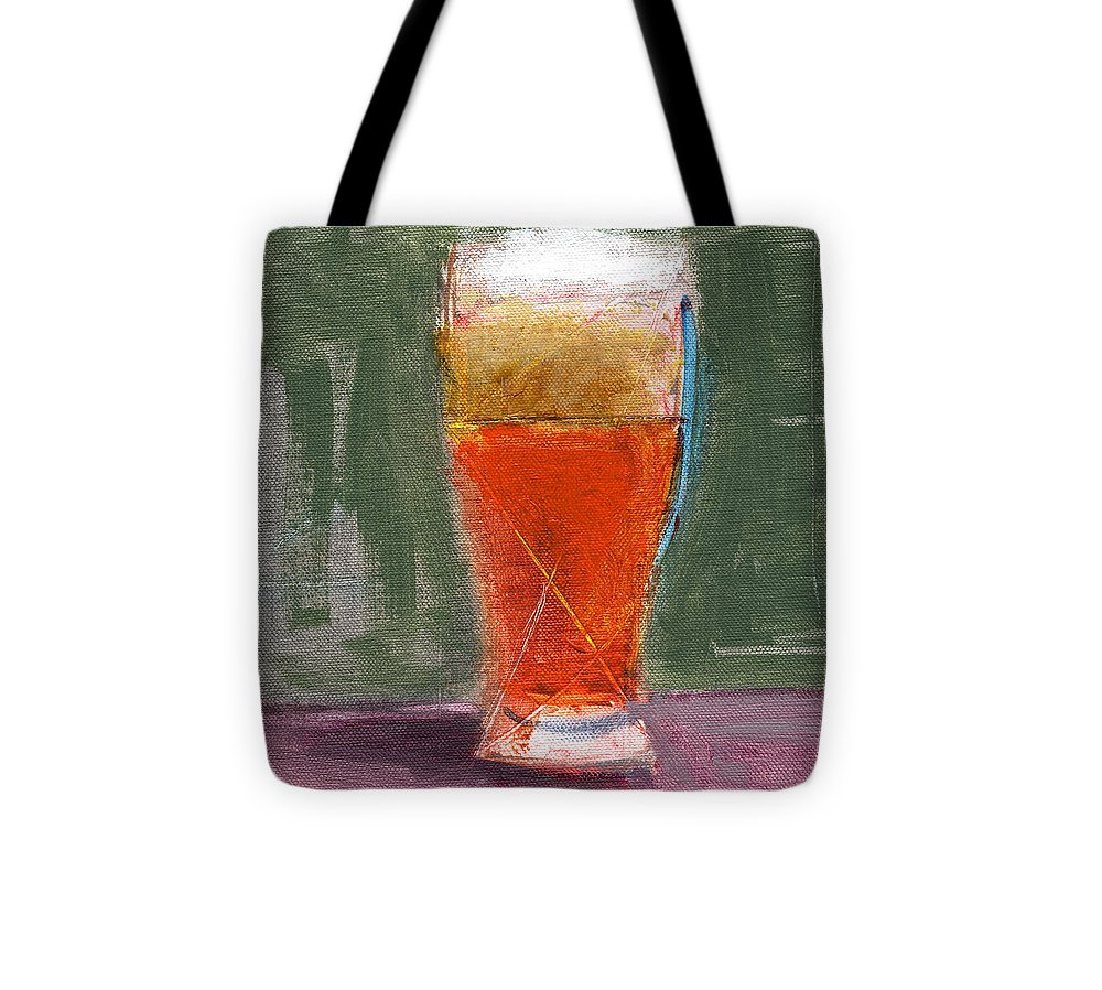 Beer Tote Bag featuring the painting Rcnpaintings.com by Chris N Rohrbach