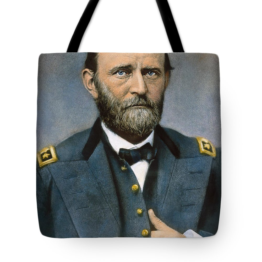 1864 Tote Bag featuring the photograph Ulysses S. Grant (1822-1885) by Granger