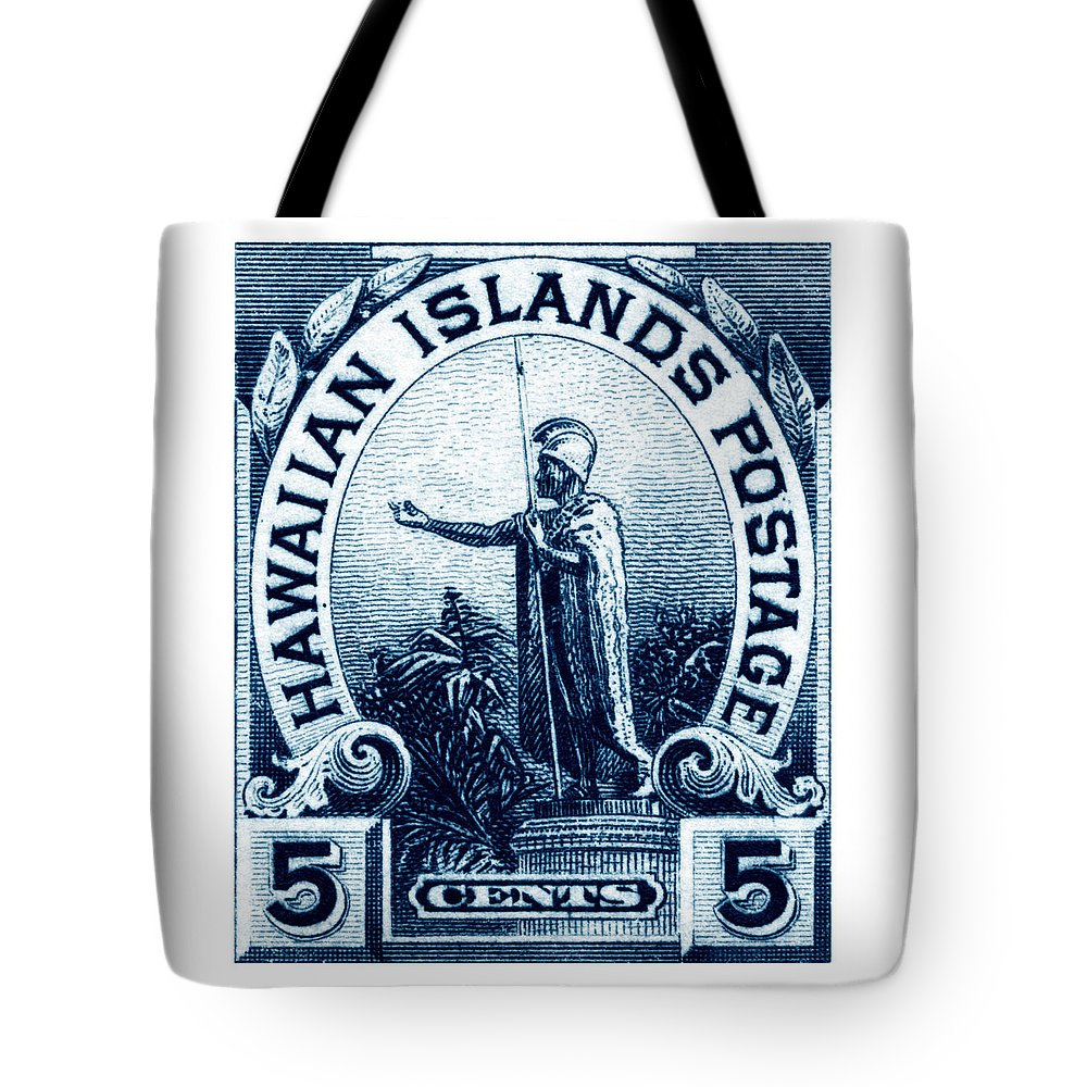 Kamehameha Tote Bags