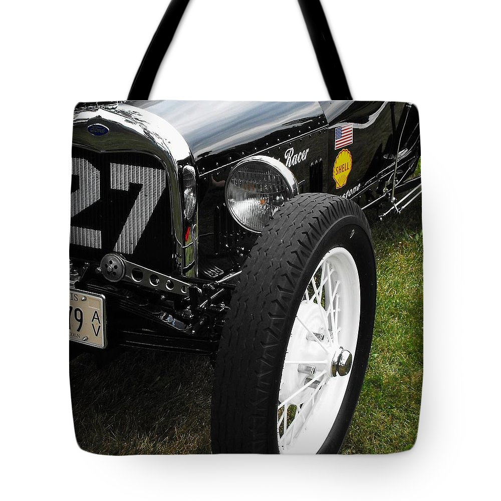 Ford Tote Bag featuring the photograph 1920-1930 Ford Racer by Neil Zimmerman