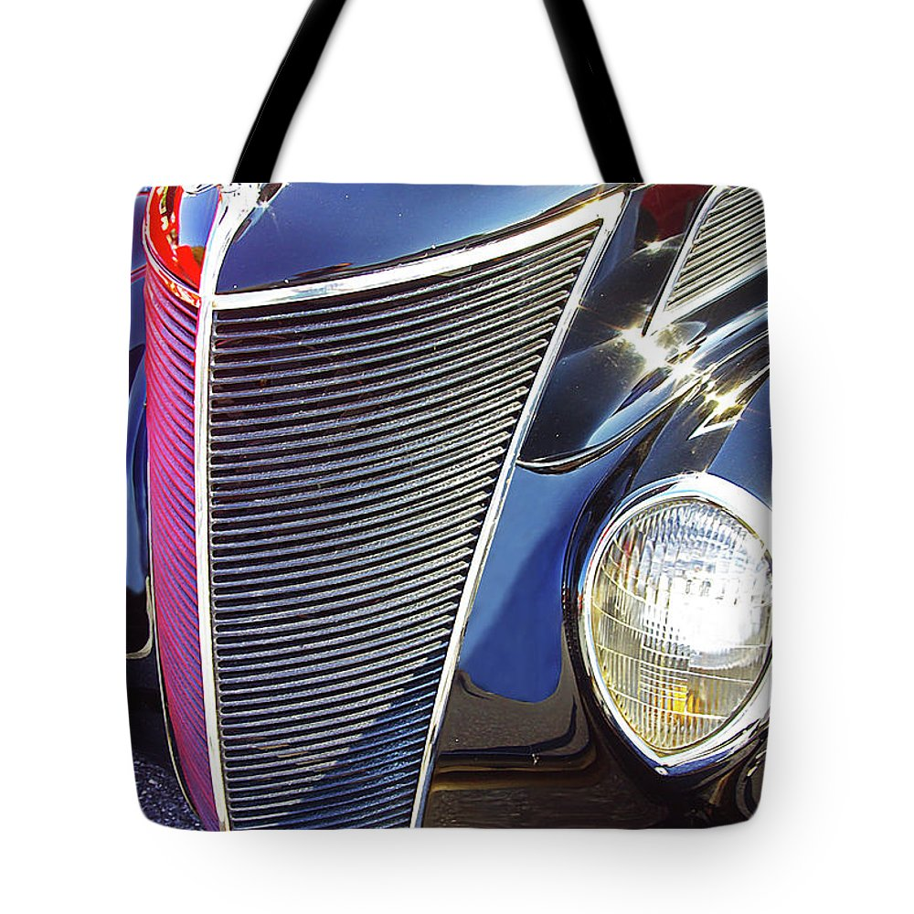 Antique Cars Tote Bag featuring the photograph 1937 Ford 2 Door Sedan by Rich Walter