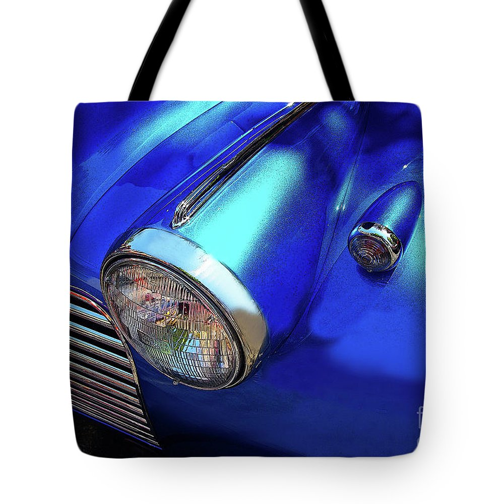 Chevy Tote Bag featuring the photograph 1940 Chevy Special Deluxe by Rich Walter