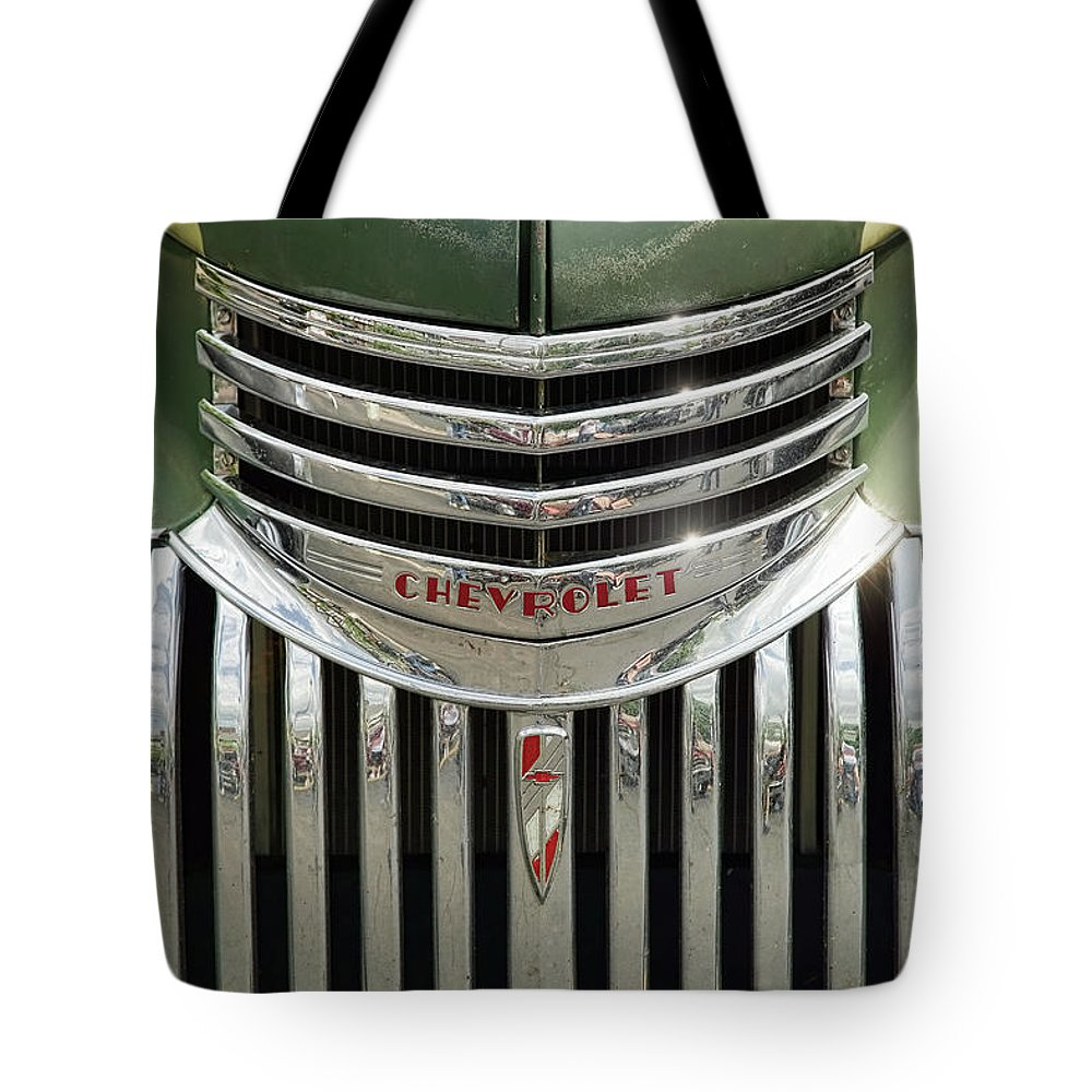 1946 Tote Bag featuring the photograph 1946 Chevrolet Pick Up by Gordon Dean II