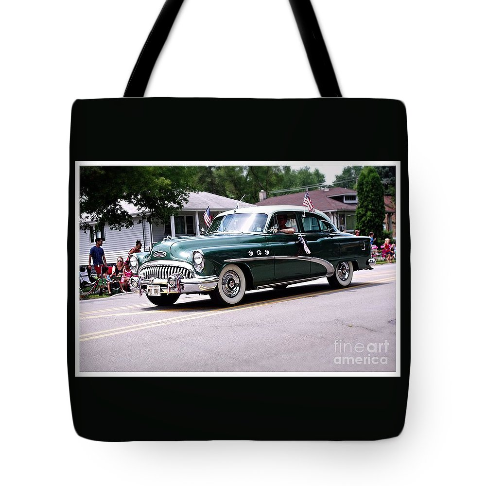 America Tote Bag featuring the photograph 1953 Buick Special by Frank J Casella