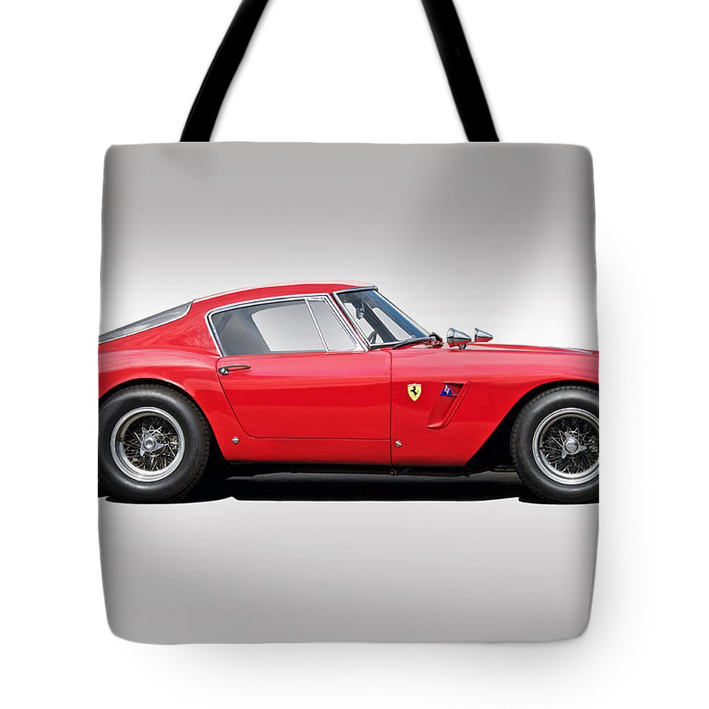 Auto Tote Bag featuring the photograph 1961 Ferrari Gt 250 Swb by Dave Koontz