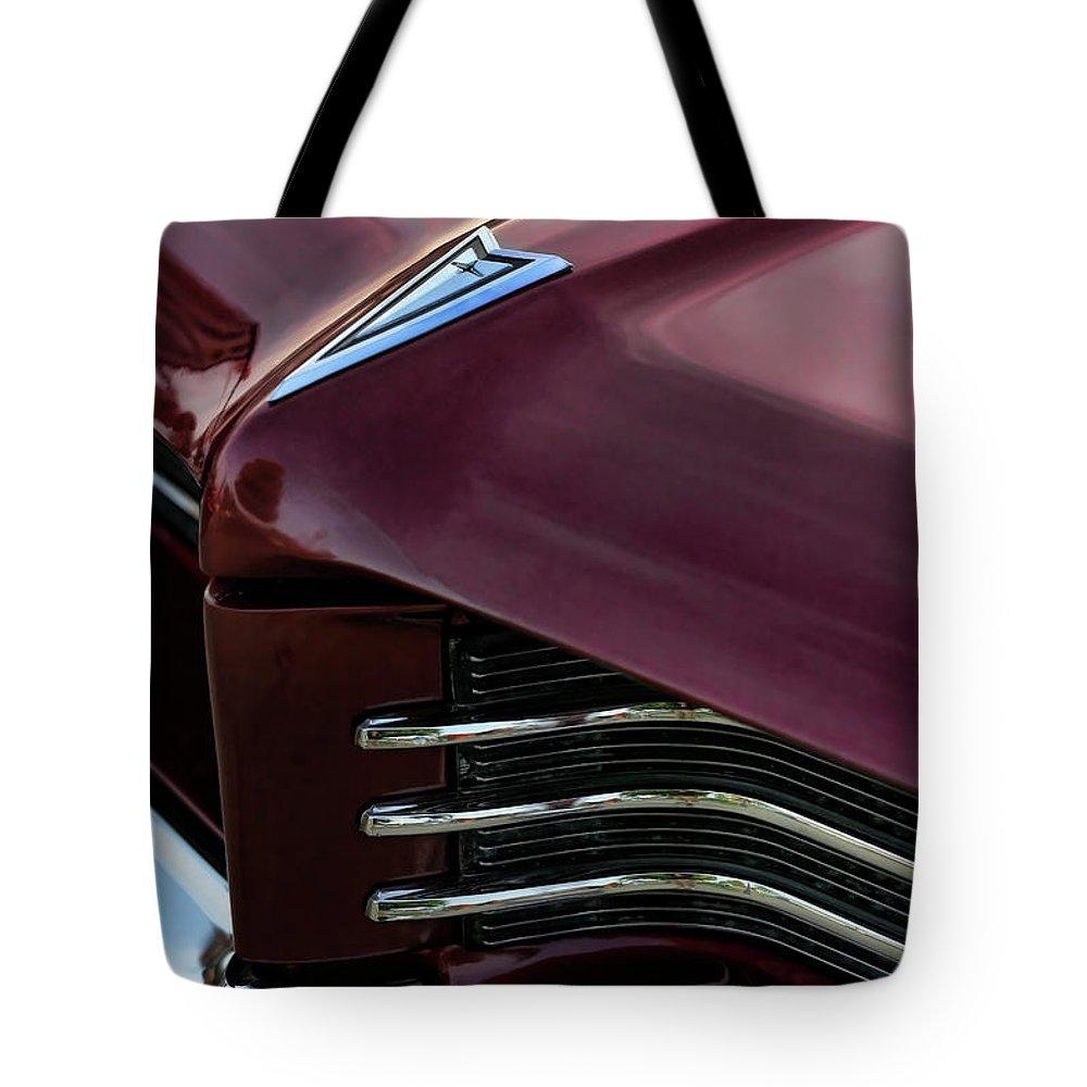 1964 Tote Bag featuring the photograph 1964 Pontiac Bonneville by Gordon Dean II