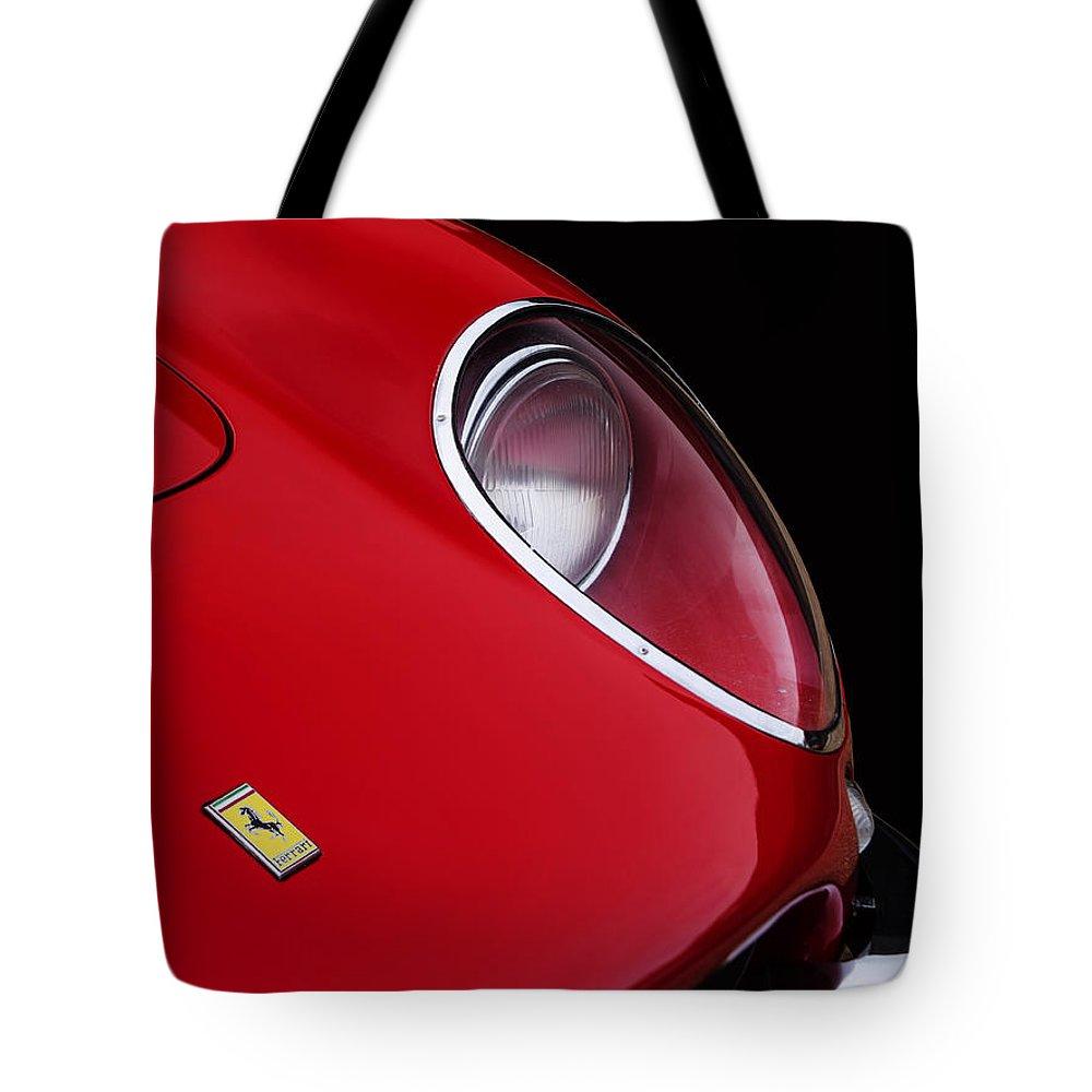 Ferrari 275 Tote Bag featuring the photograph 1966 Ferrari 275 Gtb by Mark Rogan