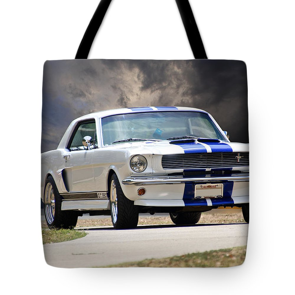 1966 Ford Mustang Gt350 Coupe Tote Bag