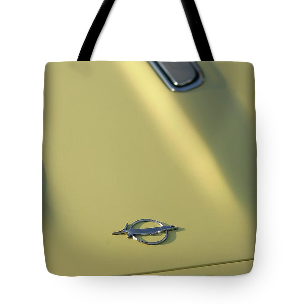 1968 Tote Bag featuring the photograph 1968 Plymouth Barracuda by Gordon Dean II