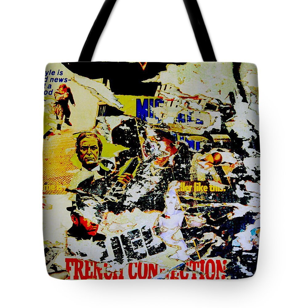 French Connection Tote Bag featuring the photograph 1971 - French Connection - by Federico Biancotti