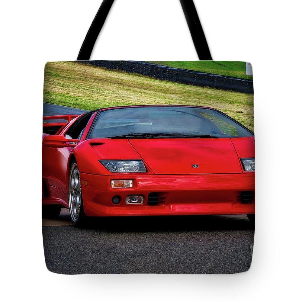 1999 Lamborghini Diablo Vt I Tote Bag For Sale By Dave Koontz