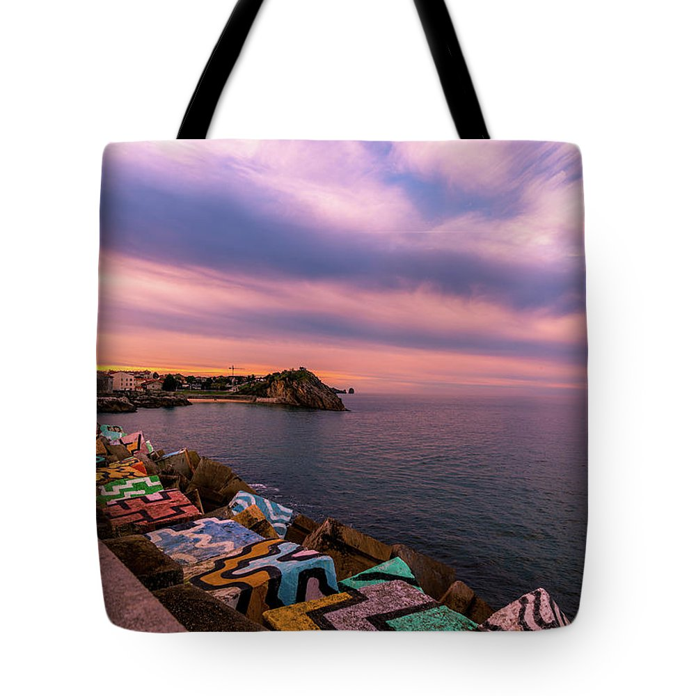 Spain Tote Bag featuring the photograph A Lot To See And Do by Ric Schafer