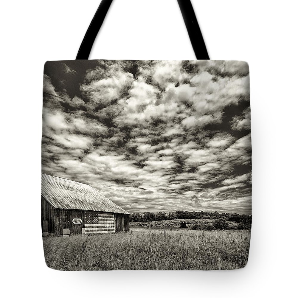 Maryland Tote Bag featuring the photograph A Summer Sky by Robert Fawcett