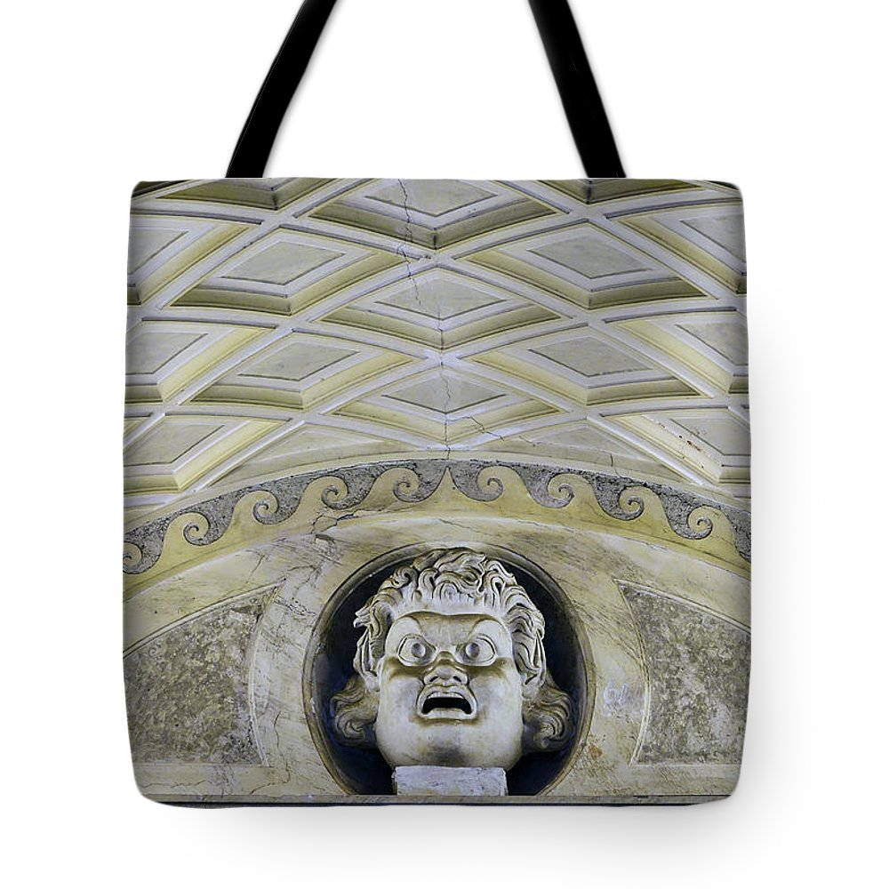 Vatican Tote Bag featuring the photograph Artistic Ceilings Within The Vatican Museums In The Vatican City by Richard Rosenshein
