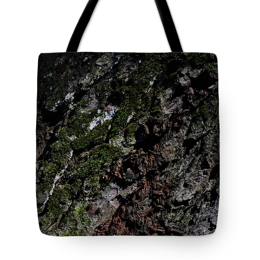 Wood Tote Bag featuring the photograph Bark by Stanislav Martynov