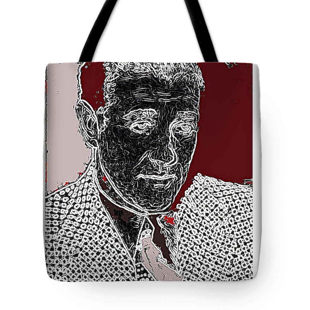 Benjamin Siegel Aka Bugsy Unknown Locale Or Date Tote Bag featuring the photograph Benjamin Siegel Aka Bugsy Unknown Locale Or Date-2013 by David Lee Guss
