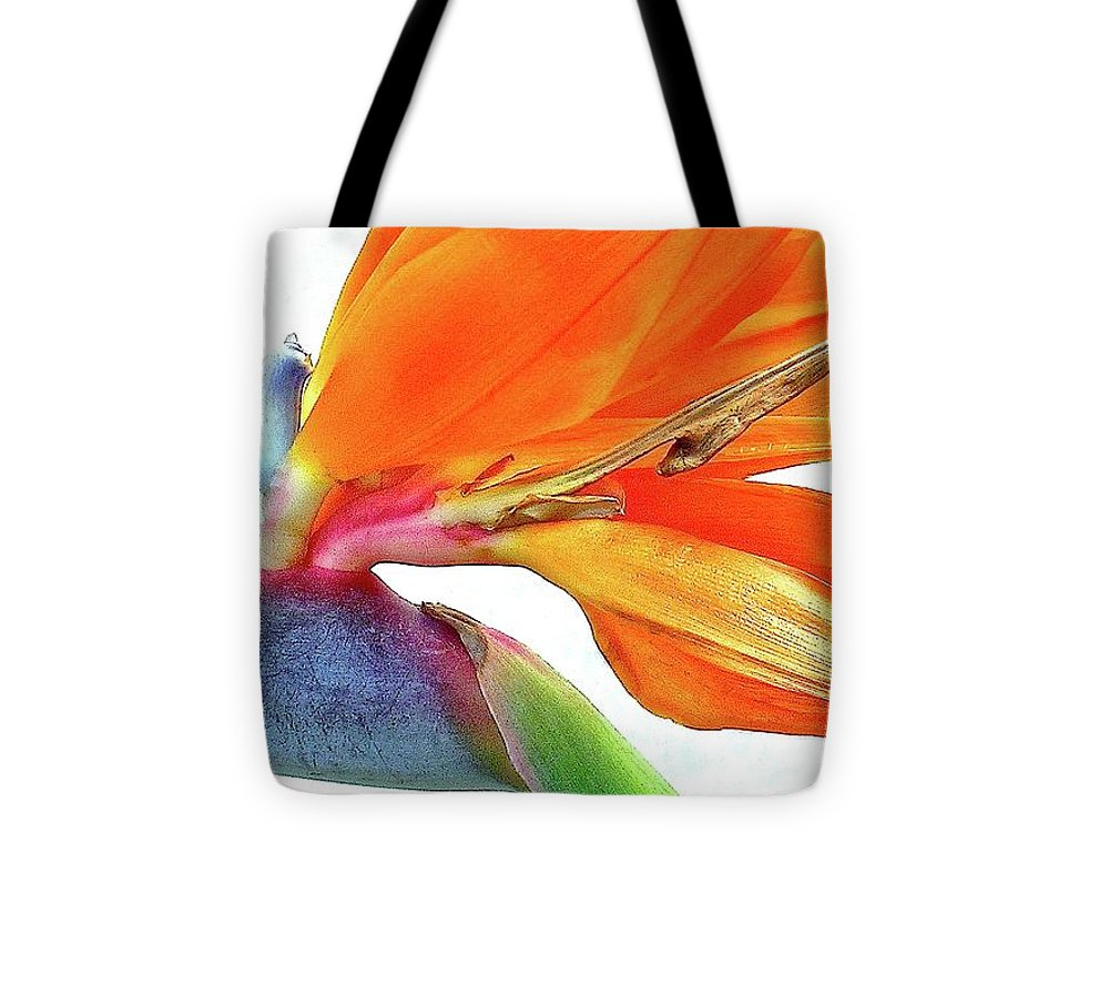 Bird In Flight Tote Bag featuring the photograph Bird In Flight by James Temple