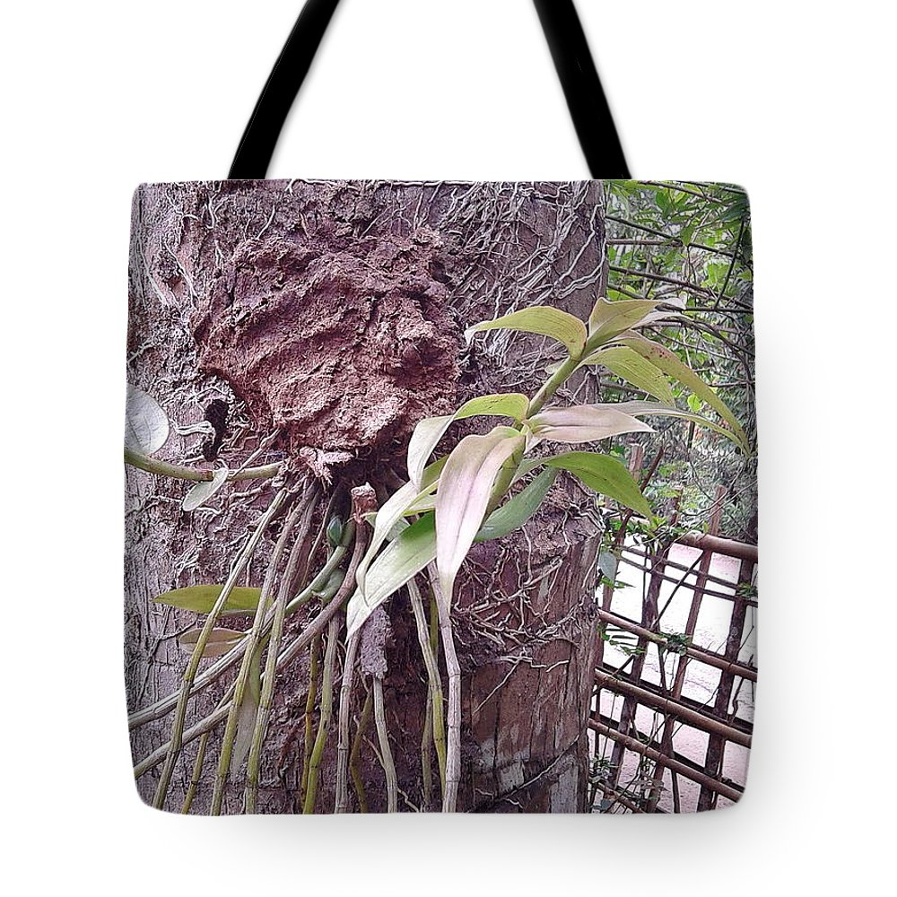 Vato Flower Tote Bag featuring the photograph Bordoloi by Jayanta Bordoloi