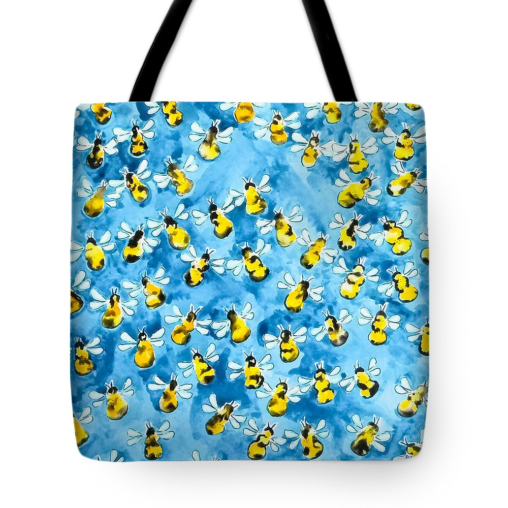 Bee Colony Tote Bags