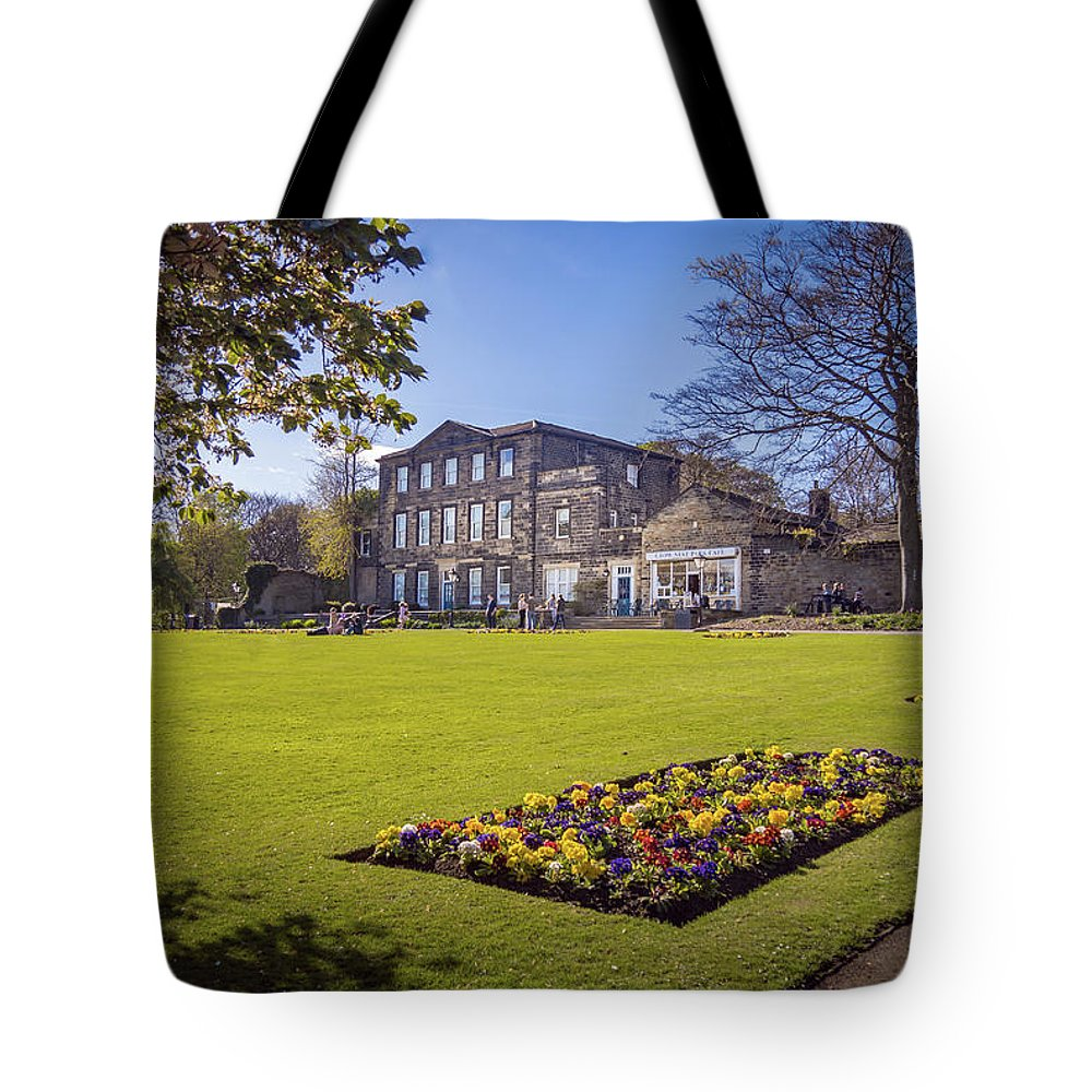 Crownest Park Tote Bag featuring the photograph Dewsbury Museum by Mike Walker