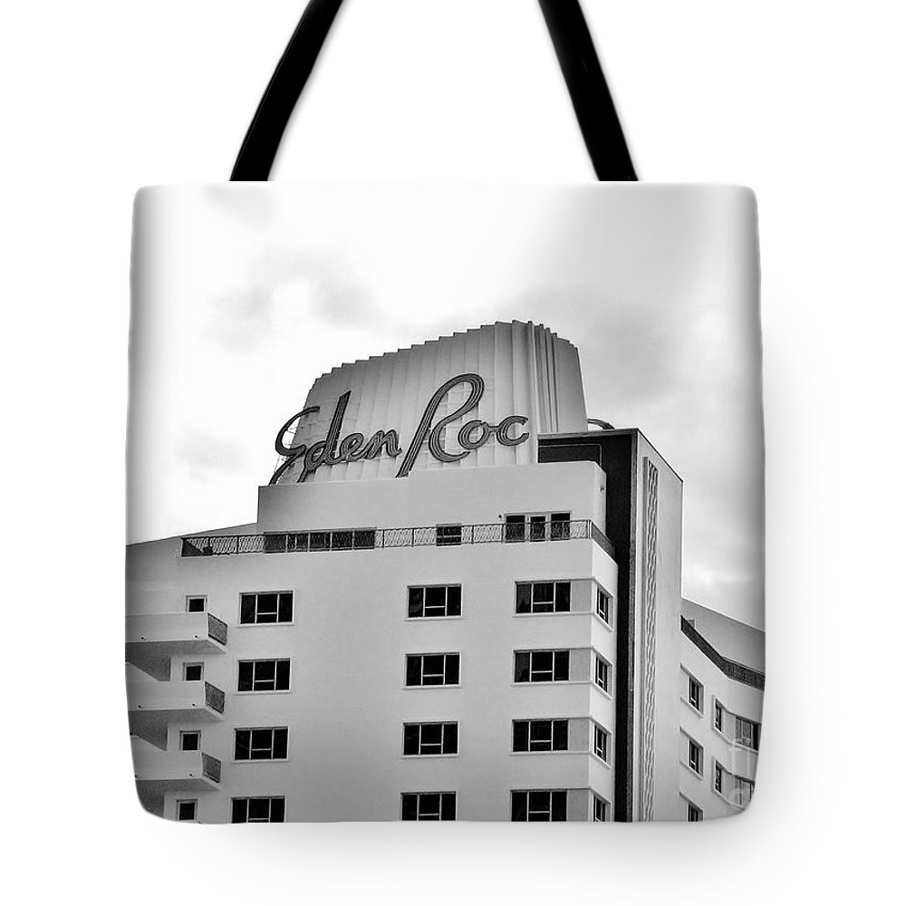 Famous Hotel Tote Bag featuring the photograph Eden Roc Hotel by Rene Triay Photography