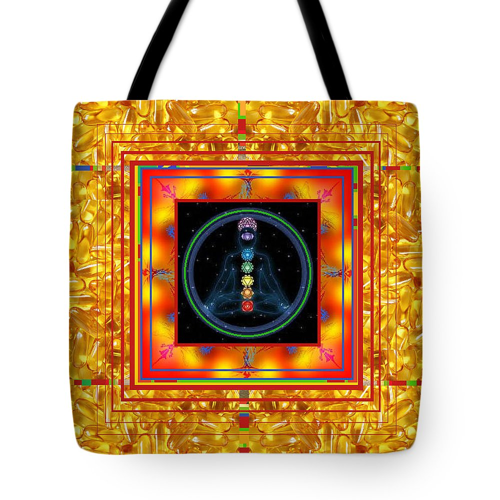 Tote Bag featuring the digital art Find Your Mind by Kenneth A Post