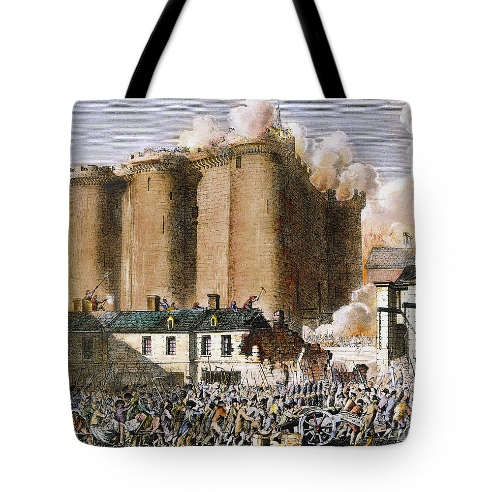 1789 Tote Bag featuring the photograph French Revolution, 1789 by Granger