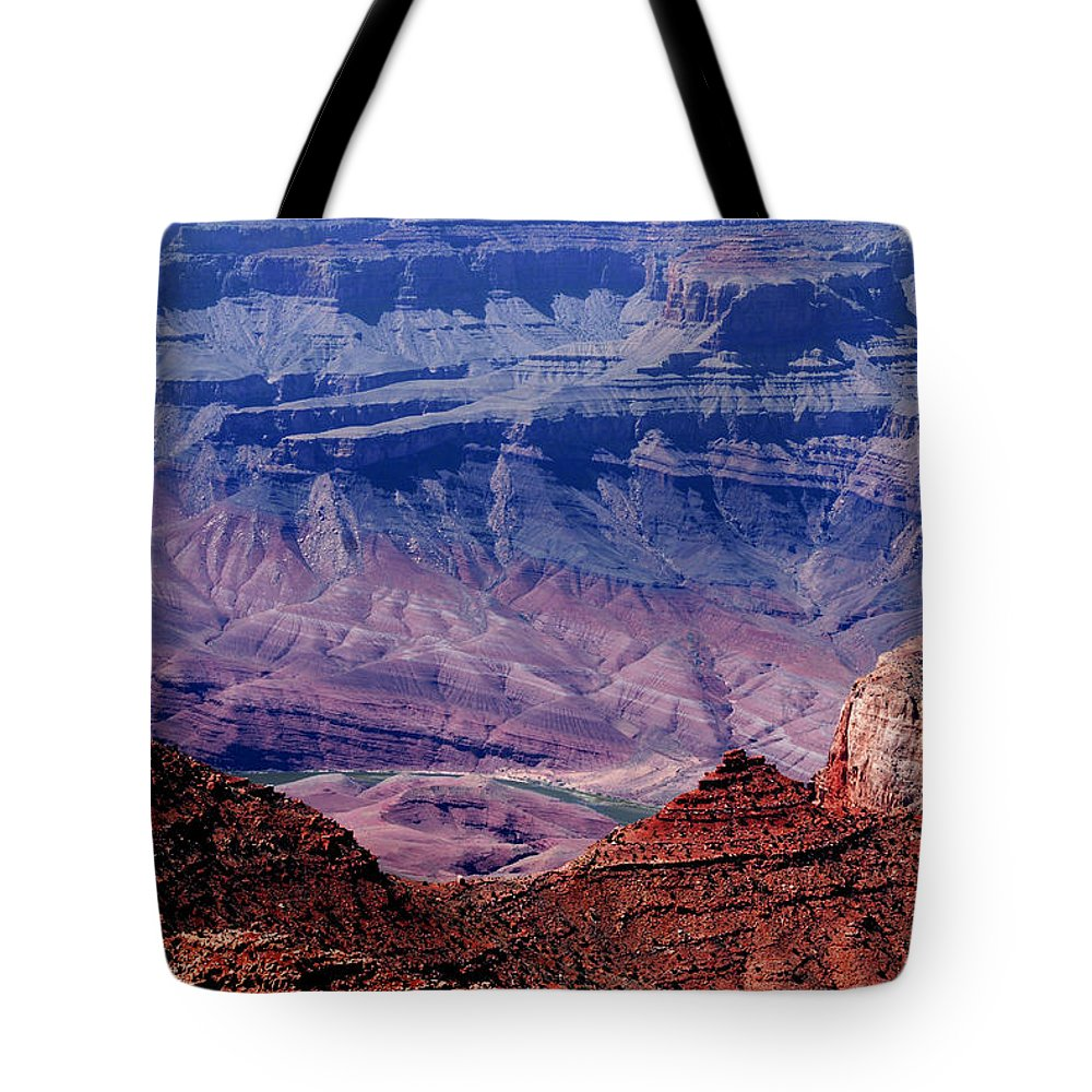Grand Canyon Tote Bag featuring the photograph Grand Canyon View by Susanne Van Hulst