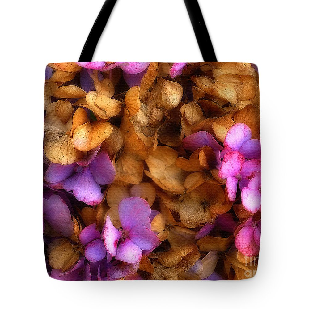 Hydrangea Tote Bag featuring the photograph Hydrangea by Jeff Breiman