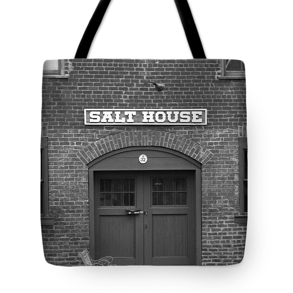 America Tote Bag featuring the photograph Jonesborough Tennessee - Salt House by Frank Romeo