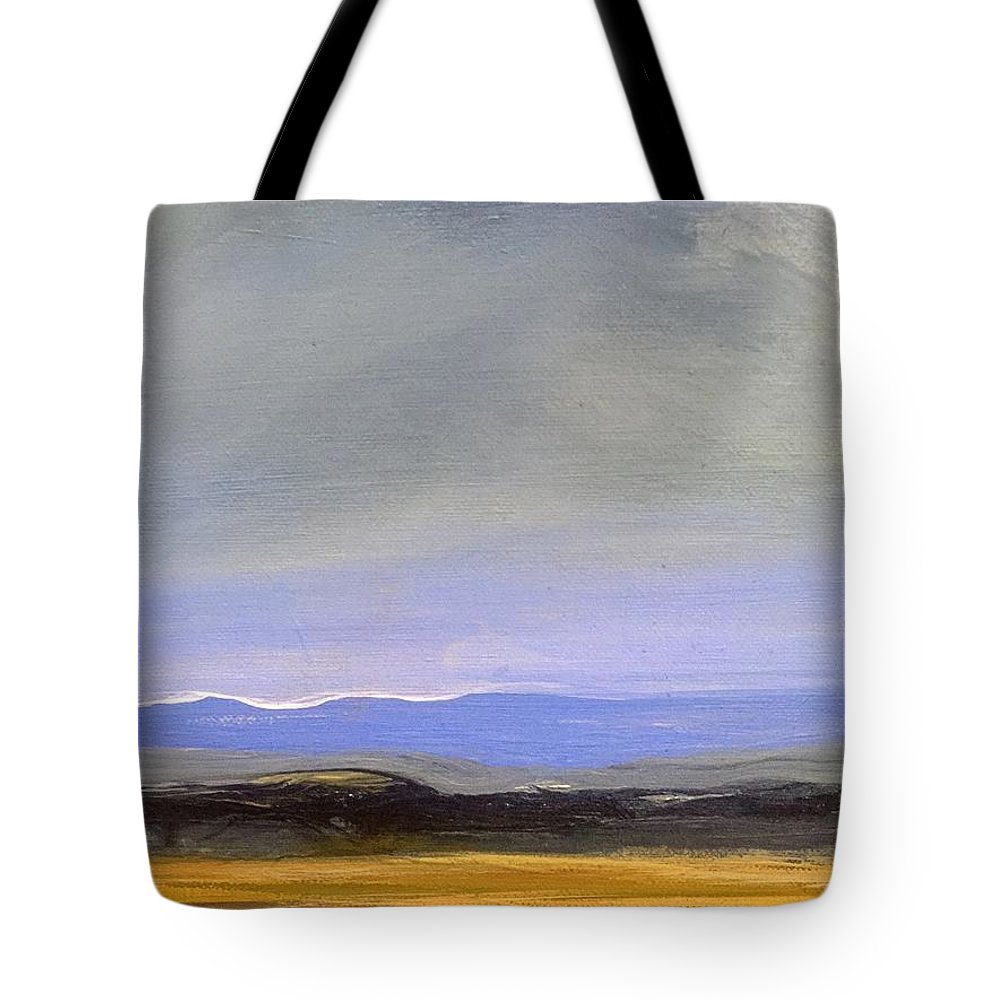 Landscape Tote Bag featuring the painting Landscape by Carol Ashton