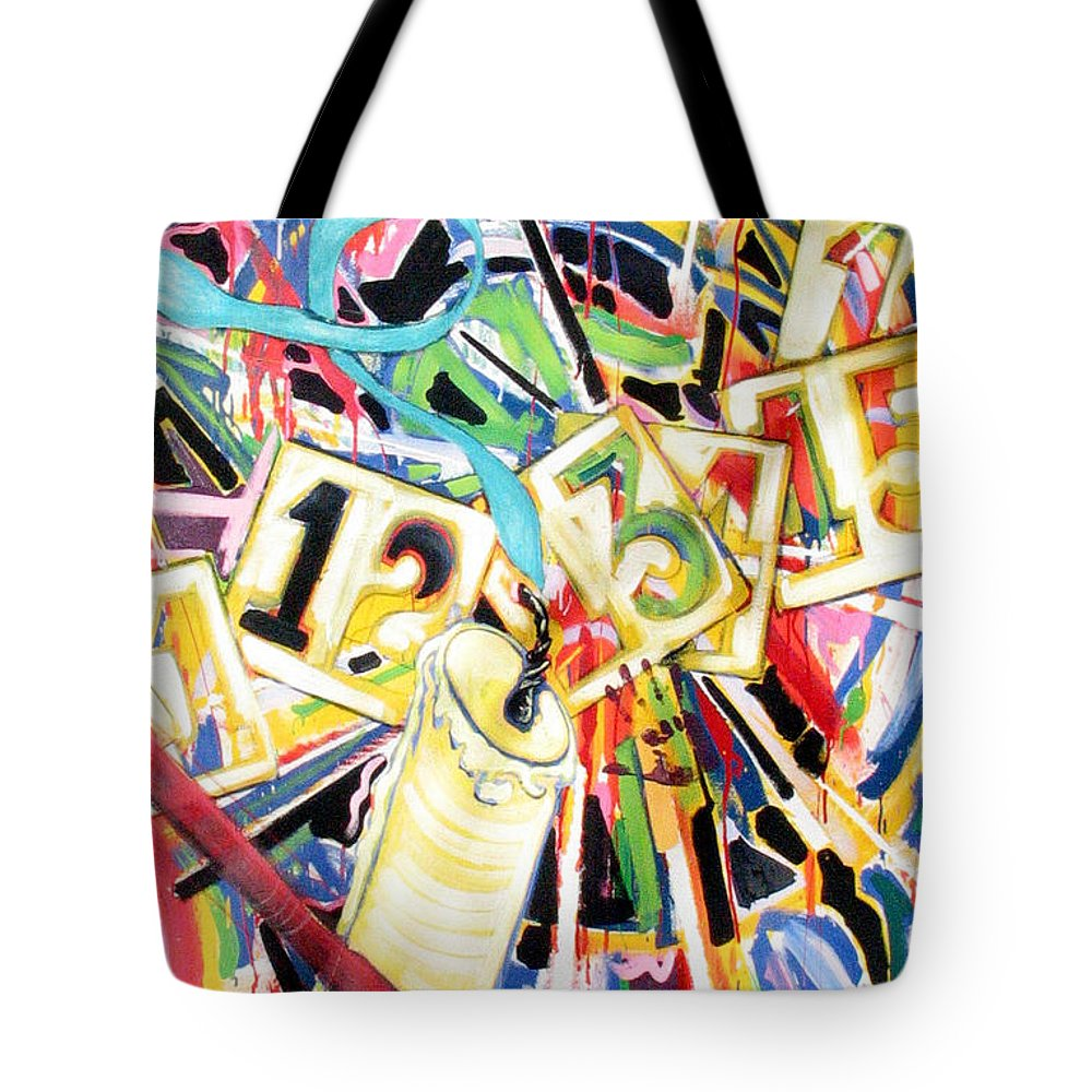 Life Tote Bag featuring the painting Life by Rollin Kocsis